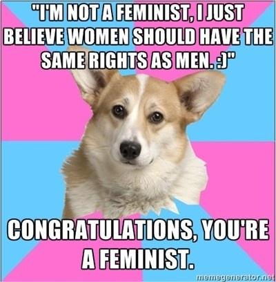 feminismo meme rtro