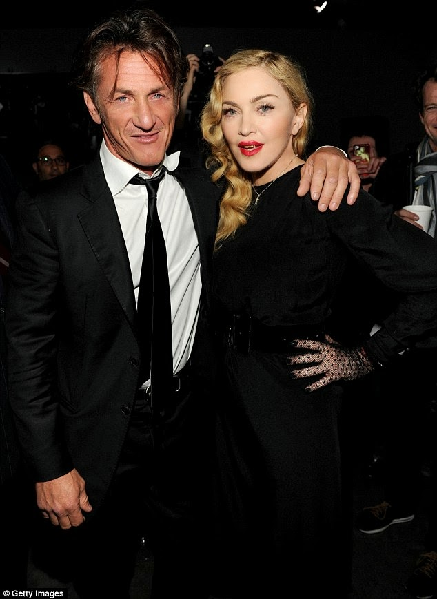 Madonna Parties With Lindsay Lohan And Sean Penn At Premiere-Of