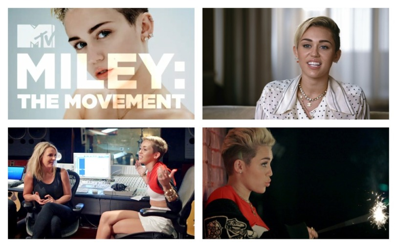 miley the movement rtro collage