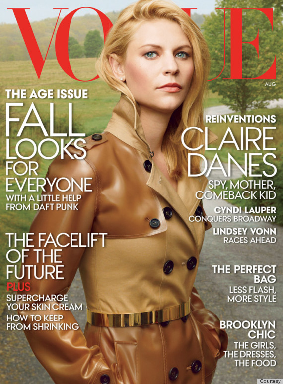 o-CLAIRE-DANES-570 vogue cover august rtro
