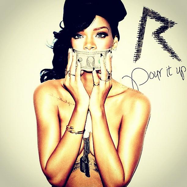 Rihanna-Pour-it-up-cover