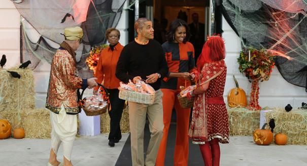 Barack Obama, Michelle Obama, Marian Robinson