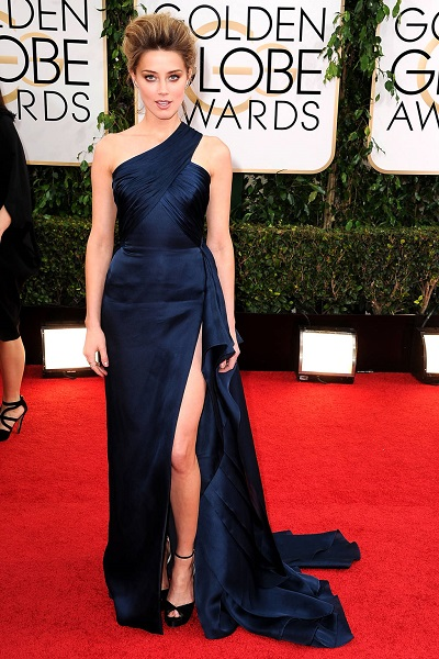 Amber Heard em Atelier Versace
