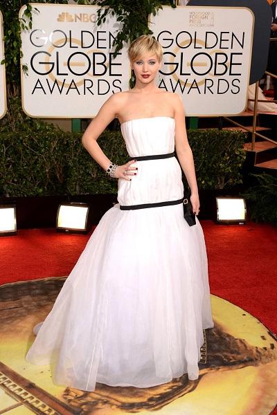 Jennifer Lawrence em Dior