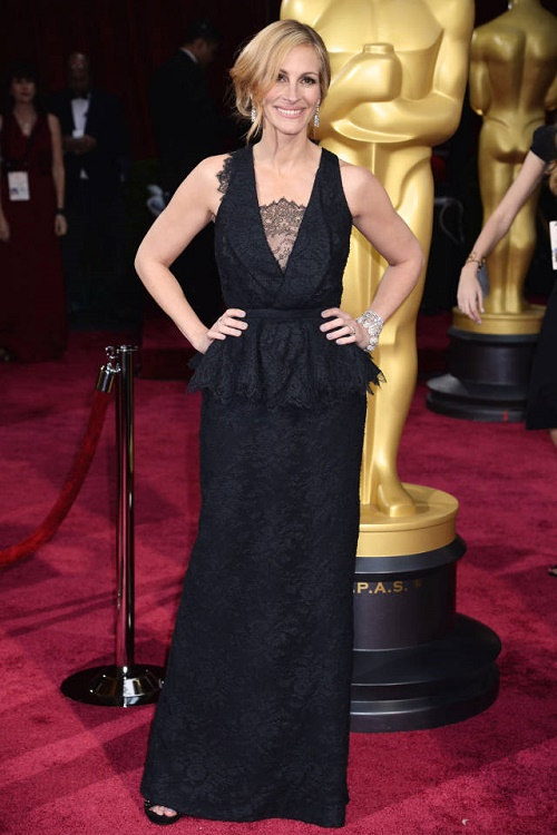 Julia Roberts em Givenchy Couture