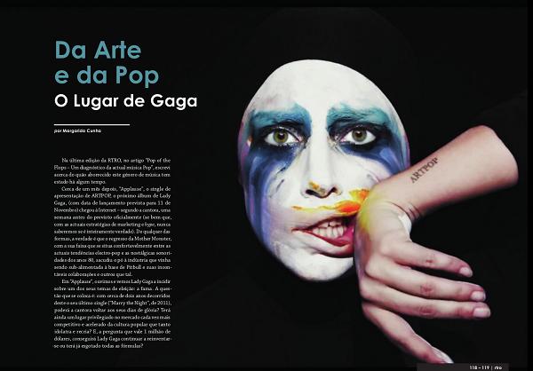 RTRO #23 - Da Arte e da Pop - O Lugar de Gaga - 1