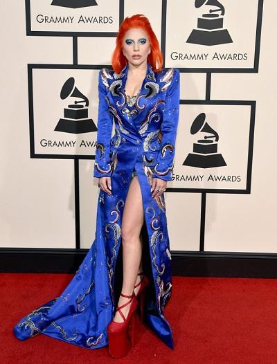 Lady Gaga em Marc Jacobs