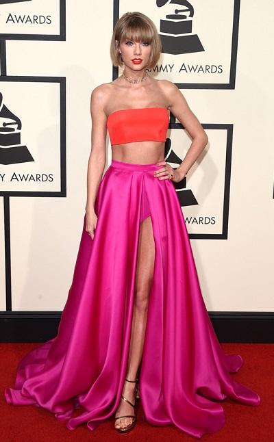 Taylor Swift em Atelier Versace