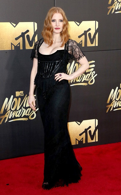 Jessica Chastain em Givenchy